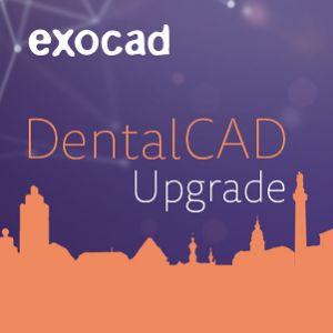 DentalCAD Upgrade-Vertrag (1 Jahr)